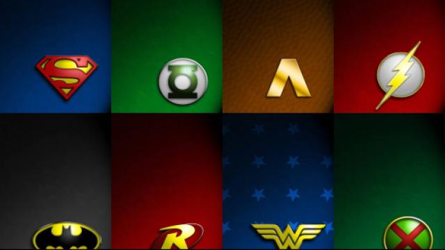 Dc Superhero Symbols