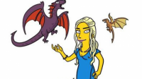 Cartoon Game of Thrones Characters